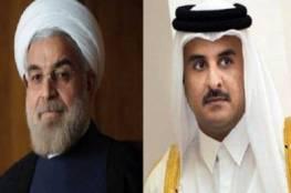 امير قطر يهاتف روحاني ويؤكد اصداره اوامر بتعزيز العلاقة مع ايران على كافة المستويات