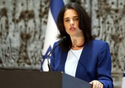 وزيرة إسرائيلية : إذا أردنا إسقاط حماس فلا يوجد سوى خيار واحد!!
