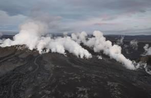 ثوران بركان بارداربونغ في ايسلندا