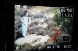 الاحتلال يعتقل 10 فلسطينيين بشبهة إضرام النيران في مناطق مختلفة