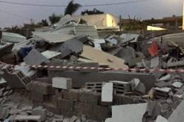 هدم 3 منازل في مدينة اللد بحجة البناء بدون ترخيص