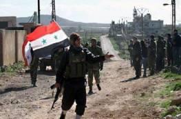 """""""الضبع"""" المعارض يعلن ولاءه للجيش السوري ويضع عناصره تحت تصرفه"""