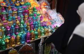 فوانيس رمضان في أسواق غزة