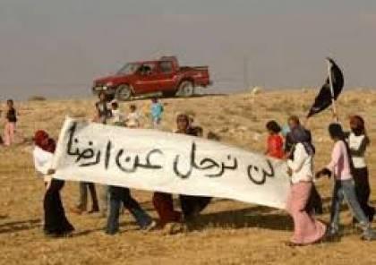 تظاهرة بقرية بير هداج بالنقب ضد الهدم