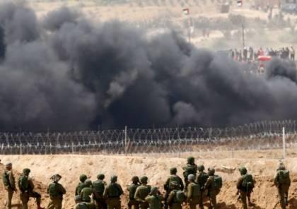 اشتباكات واطلاق نار بين مقاومين والاحتلال على حدود غزة