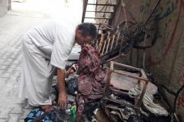 نجاة أسرة في البريج من الموت بسبب حريق ناتج عن ماس كهربائي