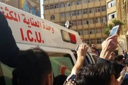 صور: إصابات بين طلبة جامعة الأزهر خلال فض الشرطة لاعتصام داخلها احتجاجا على الرسوم