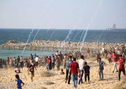 استهداف مرصد للمقاومة شرق رفح والاحتلال يصيب العشرات بالرصاص خلال قمع لمسيرة الحراك البحري شمال القطاع