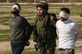 قوات الاحتلال تعتقل 13 مواطنا من بلدة العيسوية