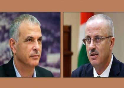 الثاني من نوعه خلال شهر.. وزير المالية الاسرائيلي يلتقي الحمدلله بعد العيد