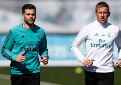ناتشو يعود إلى تدريبات ريال مدريد قبل مباراة بيلباو