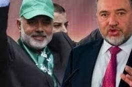 """ليبرمان : لن أتقبل حقيقة سير """"هنية"""" بحرية في قطاع غزة دون خوف"""