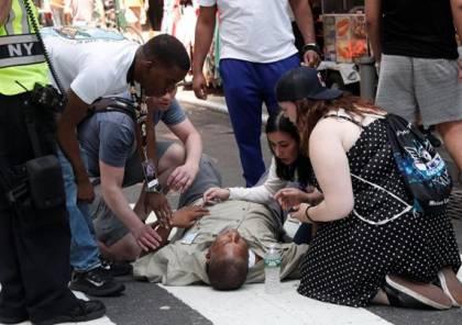 صور: قتيل و 13 اصابة على الأقل في حادثة دهس بنيويورك واعتقال السائق
