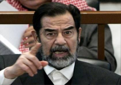 كشف رسالة مثيرة من صدام بسجنه عبر منظمة دولية (شاهد)