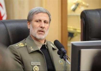 """وزير الدفاع الإيراني: المدمرة """"دنا"""" ستُسلم لبحرية الجيش قريبًا وسنستمر في تصنيع أحدث الأجهزة العسكرية"""