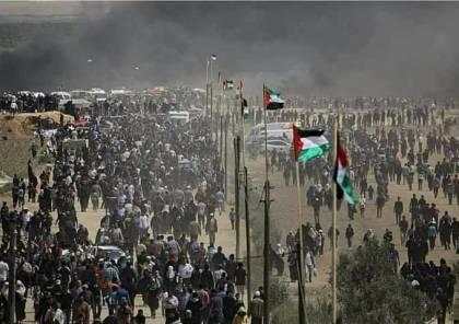 حماس: مسيرات العودة ماضية حتى التحرير