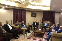 المشهراوي يلتقي هنية في القاهرة