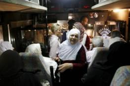 """28 من أهالي أسرى غزة يزورون ذويهم بـ """"نفحة"""""""