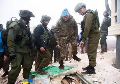 """الاحتلال يبلغ """"اليونيفيل"""" بتدمير أنفاق حزب الله بشكل رسمي"""