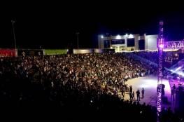 افتتاح مهرجان فلسطين الدولي للرقص والموسيقى برام الله