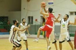 خدمات البريج ينتزع صدارة دوري كرة السلة
