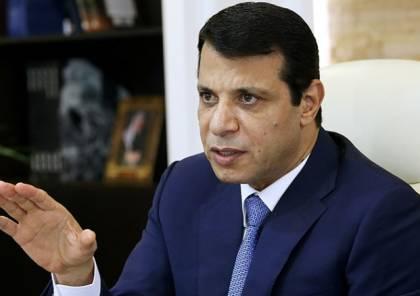 """دحلان""""يبارك اتفاق المصالحة ويثني على الدور المصري"""