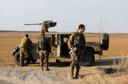 إصابة جندي إسرائيلي في مهمة عسكرية على حدود غزة