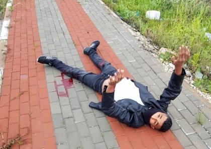 صور: إطلاق النار على فلسطينيين قرب حاجز زعترا جنوب نابلس بزعم محاولة الطعن