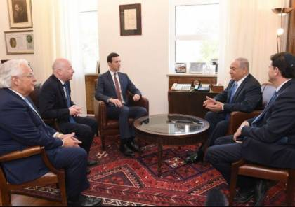 """البيت الابيض:كوشنر يبحث مع نتنياهو """"تخفيف الأزمة الإنسانية في غزة"""""""