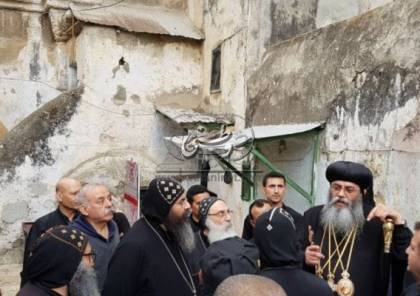 وفد كنسي مصري إلى القدس لبحث ازمة دير السلطان مع الاحتلال الاسرائيلي