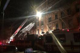 عشرات القتلى والجرحى في حريق كبير بمدينة نيويورك