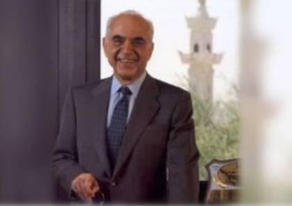 وفاة رجل الاعمال الفلسطيني المعروف عمر العقاد