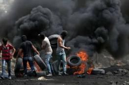 القدرة: عشرات الإصابات جراء استخدام الاحتلال غاز محرم دولياً بغزة