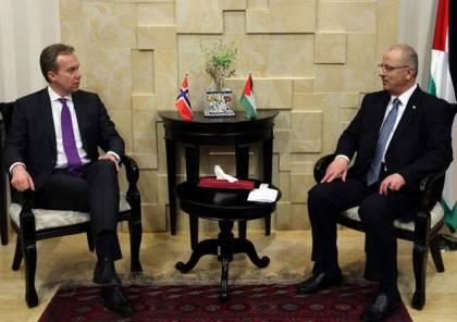 الحمد الله:نقل السفارة الامريكية للقدس سيؤدي الى انفجار الاوضاع الامنية بالمنطقة