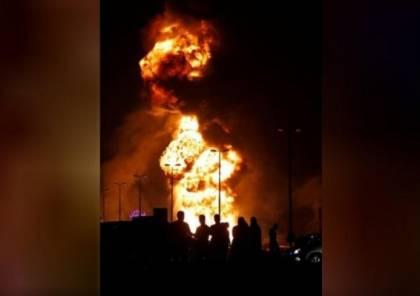 السعودية تعلق ضخ النفط إلى البحرين اثر انفجار احد الانابيب