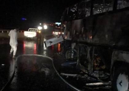 وفاة 30 معتمرًا وإصابة آخرين بحادث سير مروع في السعودية