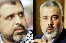 هنية وشلح يبحثان هاتفيا جريمة الاحتلال في غزة