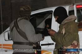 """مدججين باسلحة و """"ار بي جي.. صور: حاجز تفتيش لـ""""ولاية سيناء"""" وسط العريش"""