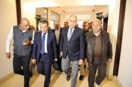 """صور ..وصول الوفد الأمني المصري الى غزة عبر حاجز """"إيرز"""" لمتابعة تنفيذ المصالحة"""