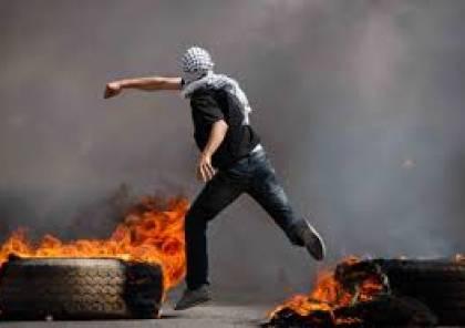 تشييع شهيدي الضفة وغزة ومواجهات واصابات في جمعة الغضب السادسة