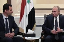 بوتين يبلغ الأسد بفحوى الاتفاق مع تركيا حول إدلب