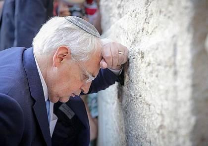 """فريدمان: """"ذبحنا البقرة المقدسة (الأونروا)..ونقل سفارة أمريكا الى القدس بـ""""أمر الملك داود""""!"""