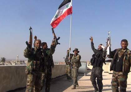 الجيش العربي السوري يتقدم في ريف درعا وداعش يمنع الأهالي من الخروج