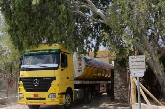 فتح معبر رفح لإدخال الدفعة الثالثة من الوقود المصري
