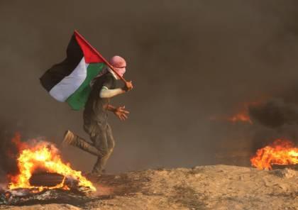 """غزة :3 شهداء و اصابة المئات برصاص الاحتلال في جمعة """"الثبات والصمود"""""""
