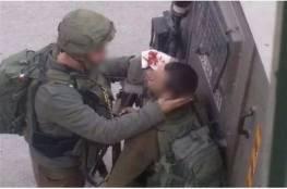 إصابة أحد ضباط الاحتلال خلال اعتقال شاب بمخيم الدهيشة