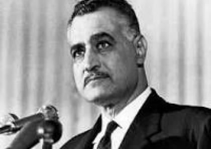 جمال عبد الناصر مات مرضا أم قتلا ؟
