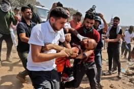 نابلس: 33 اصابة جراء قمع الاحتلال مسيرة سليمة في محيط جبل صبيح