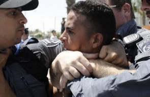 الاحتلال يقمع التظاهرات ضد مخطط