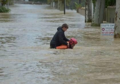 مصرع 13 شخصا جراء السيول جنوب فرنسا